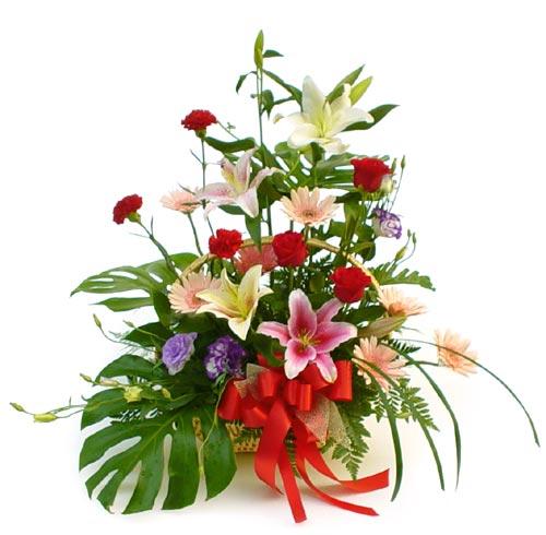 24 Assorted Flowers Arrangement