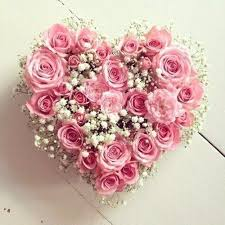 36 Pink Roses Heart Shaped Arrangemen
