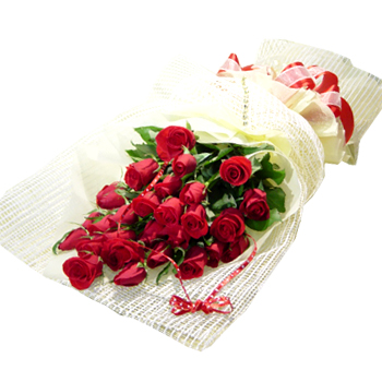 A perfect gift of a Bouquet of 12 Red Roses
