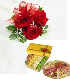 Send Diwali gift to India, Diwali India flowers gift to India for ...
