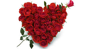 125 Red Roses Heart Shaped Arrangement
